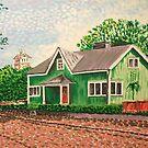 The Green House by Alan Hogan