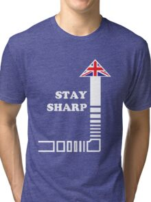 Stay Sharp Tri-blend T-Shirt