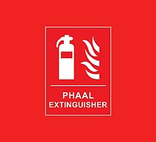 Funny Hot Spicy Curry Phaal Fire Extinguisher Joke by CreativeTwins