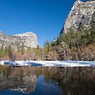 Mirror Lake, Yosemite Valley by David Recht