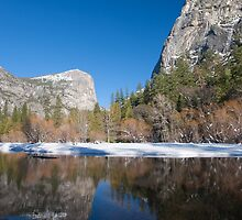 Mirror Lake, Yosemite Valley by David Recht