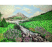 Mount Errigal Photographic Print