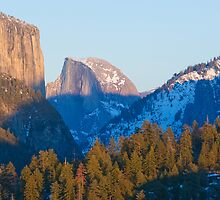 Half Dome, Yosemite Valley by David Recht