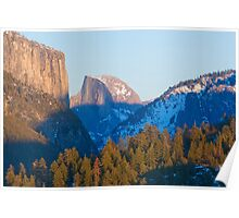 Half Dome, Yosemite Valley Poster
