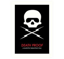 Death Proof Quentin Tarantino Art Print