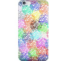 Decorative Abstract in Deep Pastels iPhone Case/Skin