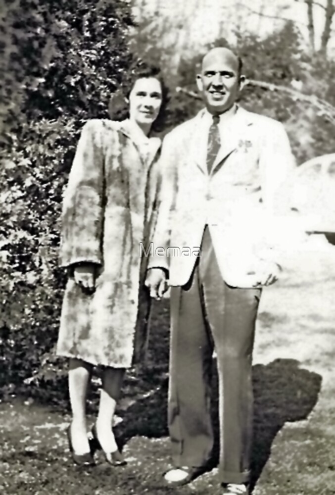 Betty and Charlie Searles 1946 by Memaa