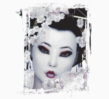 Geisha - White Cherry Geisha T-Shirt