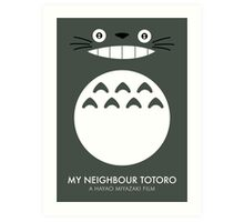 My Neighbour Totoro Hayao Miyazaki Art Print