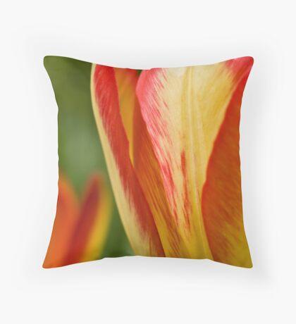delicate brushstrokes Throw Pillow