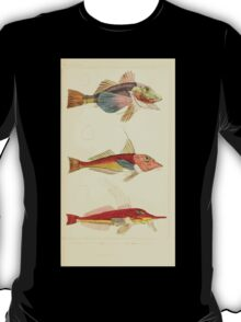 The Animal Kingdom by Georges Cuvier, PA Latreille, and Henry McMurtrie 1834  080 - Pisces Fish T-Shirt
