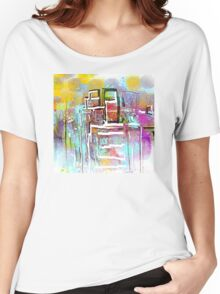 Colorful City Designs Women's Relaxed Fit T-Shirt