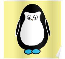 Hugo the penguin Poster
