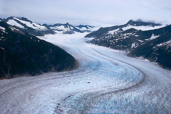 Mendenhall Glacier by Jim Haley