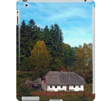 Old farm below the forest | cultural heritage iPad Case/Skin