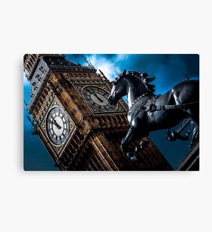 Assertion  @londonlights Canvas Print