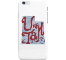United Shapes of America - Utah iPhone Case/Skin