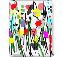 Fun Flowers in Bright Colors iPad Case/Skin