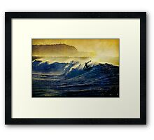 Hang Five Framed Print