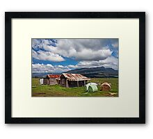 Great Western Tiers from Dairy Plains Framed Print