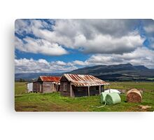 Great Western Tiers from Dairy Plains Canvas Print