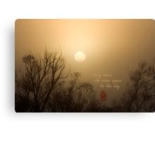Early Dawn Canvas Print