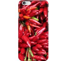 Paprika (Peppers) at a Market Stall.  iPhone Case/Skin