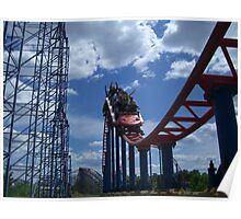 Superman: Ride of Steel, Six Flags America Poster