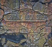 Titanic Dock Plaque by Darren Brown