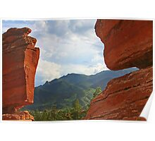 """Garden of the Gods - This place """"ROCKS""""! Poster"""