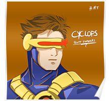 Cyclops - Scott Summers  Poster