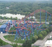 Superman: Ride of Steel, Six Flags America by coasterfan94
