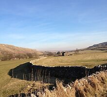 A road to nowhere in the Yorkshire Dales by kytephotography