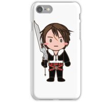 The Guy with Gunblade iPhone Case/Skin