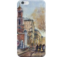At the Pyatnitskaya street. Moscow. Russia iPhone Case/Skin
