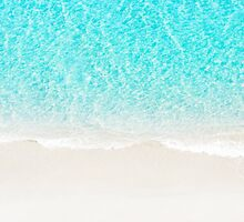 Sand beach with turquoise sea waves by msOctopus
