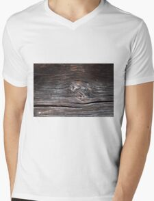 Abstract wood background  Mens V-Neck T-Shirt