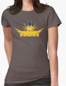 Cancer Deathmask Womens Fitted T-Shirt