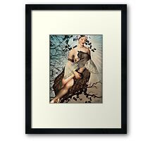 Madonna of the tree Framed Print