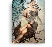Madonna of the tree Metal Print