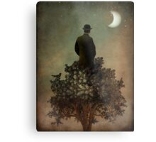 Man in tree Metal Print