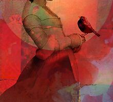 Lady in red by Catrin Welz-Stein