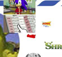 fair use Sticker
