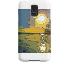 Good Morning Sun Samsung Galaxy Case/Skin