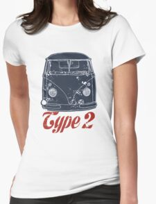 Type 2 Womens Fitted T-Shirt