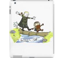 legolas and gimli iPad Case/Skin