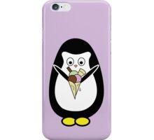 Penguin icecream iPhone Case/Skin