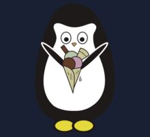 Penguin icecream Baby Tee