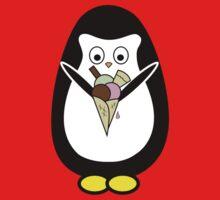 Penguin icecream Baby Tee