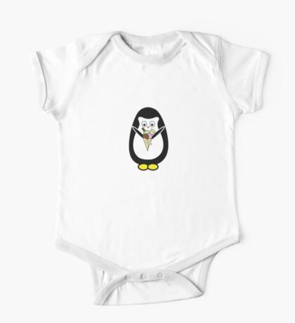 Penguin icecream One Piece - Short Sleeve